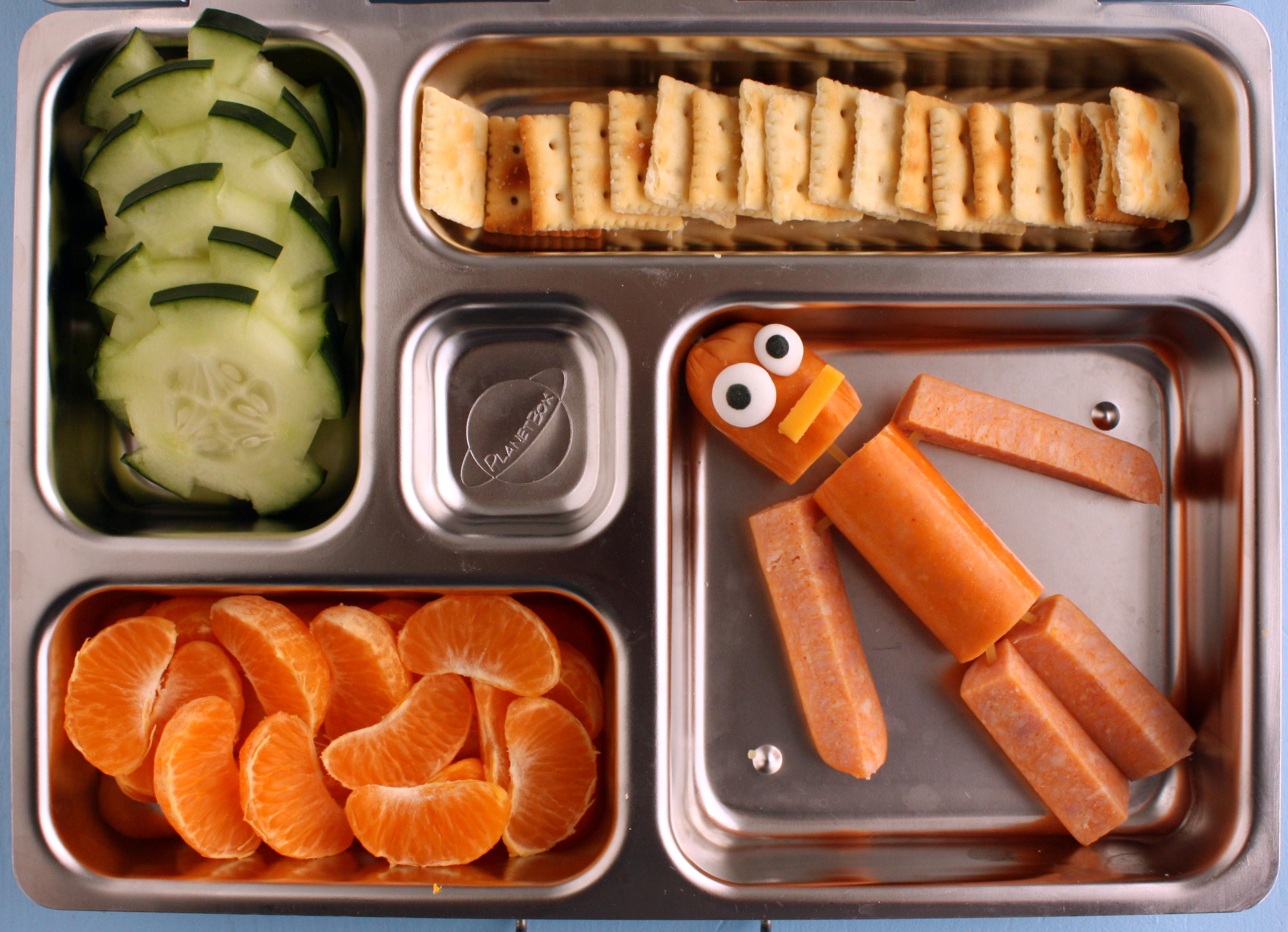 hot dog robot man planetbox lunch. Black Bedroom Furniture Sets. Home Design Ideas