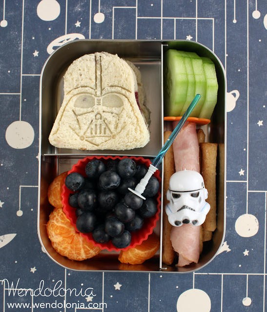 Star Wars bento for a preschooler