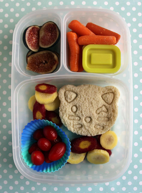 Kitty Sandwich Bento for Camp