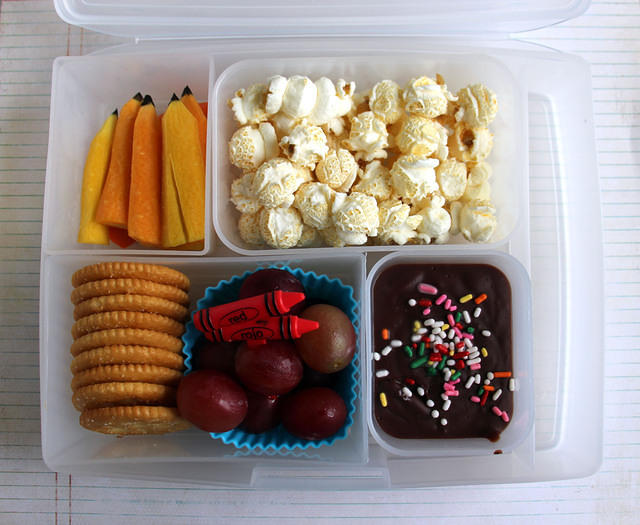 First Day of School Lunch: Augie Edition