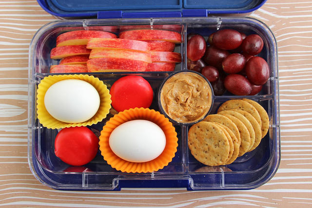 Knock-off Starbucks Protein Box in the Yumbox Tapas