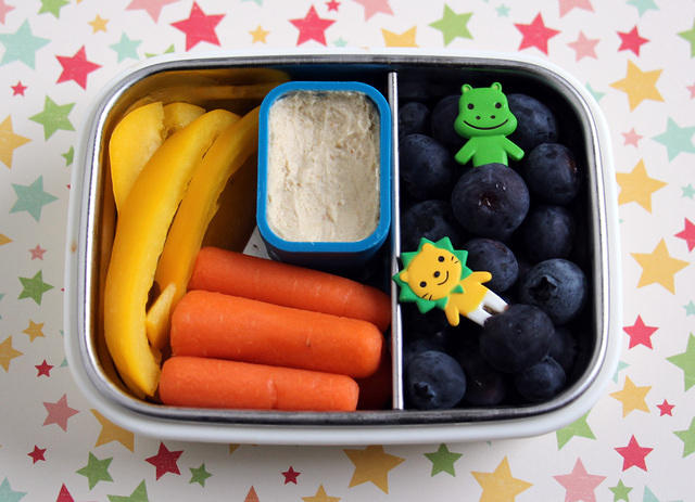 First day of school snack for a kindergartner