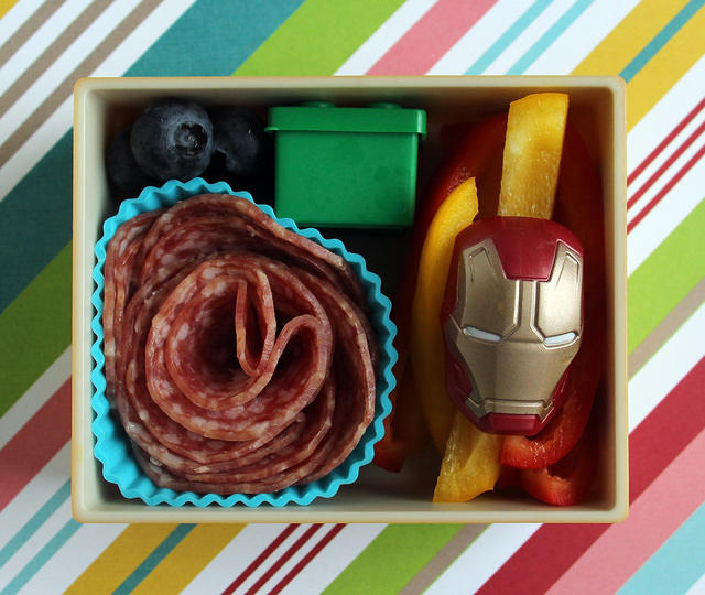Iron Man snack