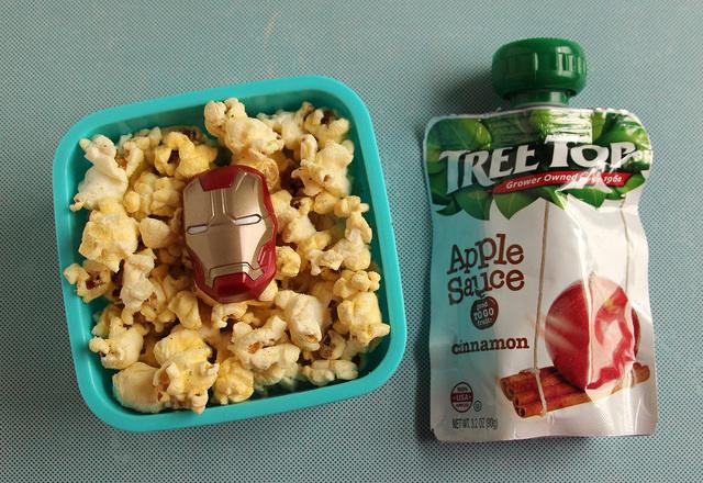 Iron Man Popcorn Snack