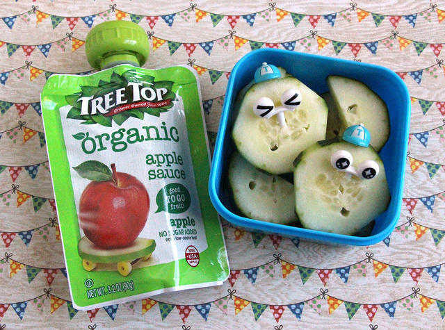 Cucumber cuties snack