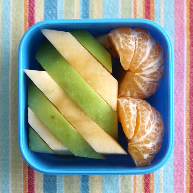 Stripes and Semi-circles Bento Snack