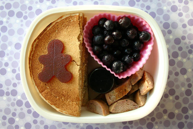 Breakfast bento for a preschooler