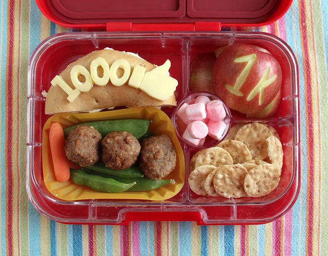 Wyatt's 1000th Bento Lunch!