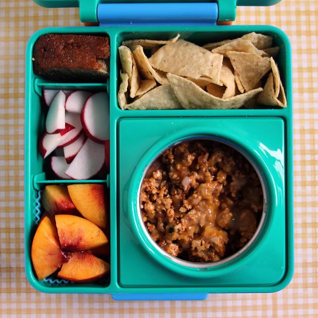 First Omiebox Lunch for Wyatt