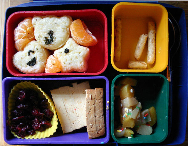Beautiful, adorable bento box: decimated!