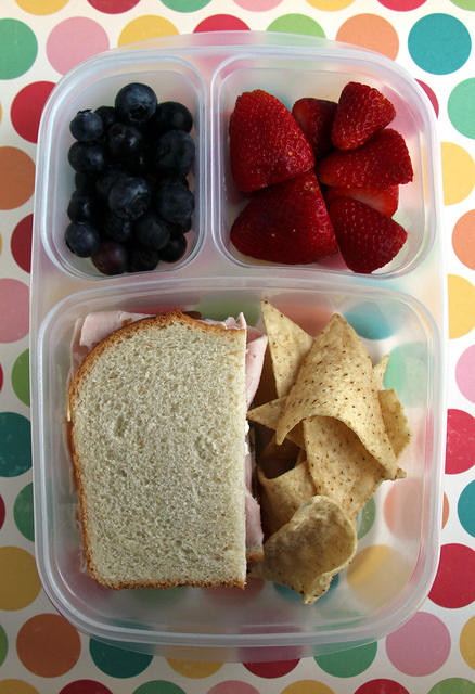 Go basic: pack a good ol' ham sandwich on white bread.