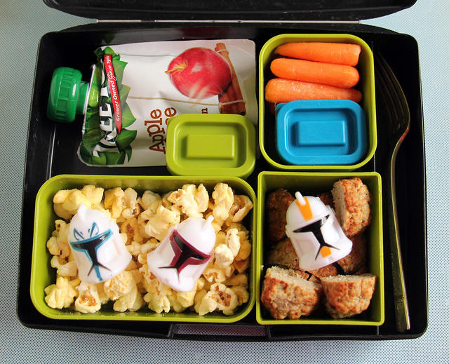 Star Wars-ish Laptop Lunches bento