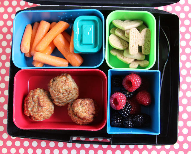 Kid-packed Laptop Lunches bento