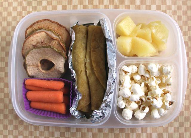 Taquitos lunch