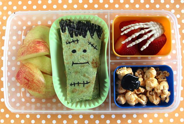 Frankenstein Quesadilla Lunch