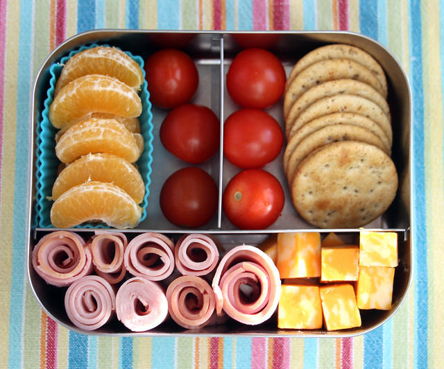 Another Better-Than-Lunchables LunchBots Lunch
