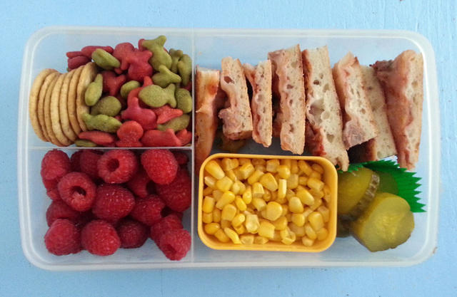 Wyatt's Dad-packed Lunch