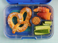 Soft Pretzel in the Yumbox