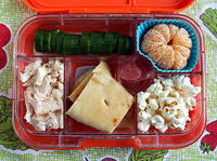 A Typical Yumbox Lunch