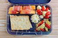 Antipasti for Lunch in the Yumbox Tapas