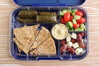 Mediterranean Mezze in the Yumbox Tapas