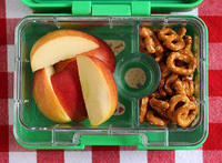 Apple and Pretzel Snack