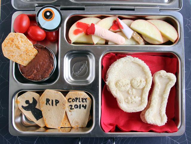 Spooooky Halloween Lunch
