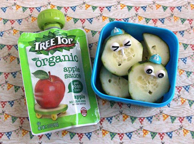 Cucumber cuties snack