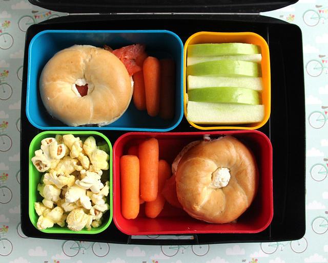 Mini Lox Bagels Lunch